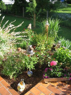 kleiner Ausschnitt aus meinem Garten - Sommer 2008