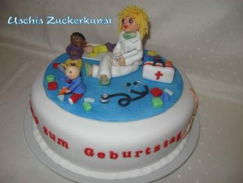 Torte Zum 30 Geburtstag Thema Kinderarztin Motivtorten Fotos