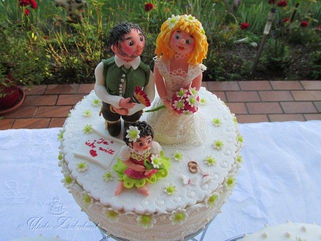 Hochzeitstorte Maler In Tracht Heiratet Englanderin Im