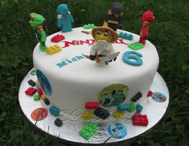 Lego Themed Cake Ideas