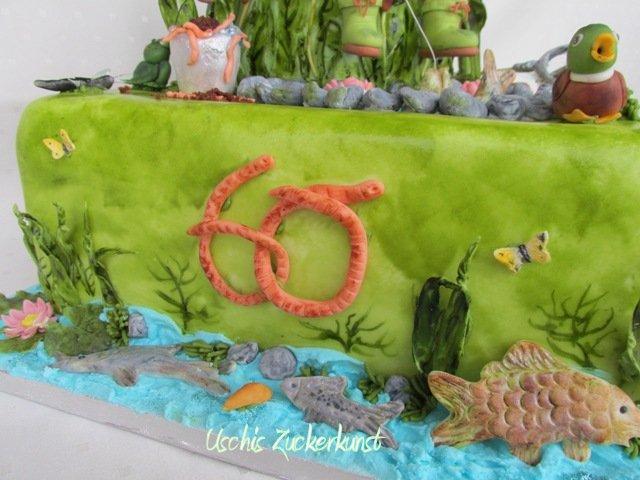 Anglertorte Zum 60 Geburtstag Motivtorten Fotos Forum