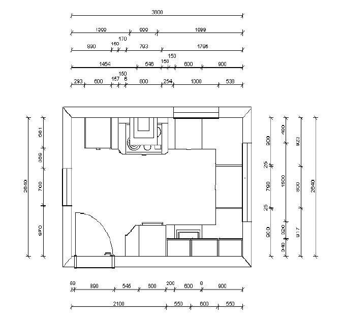 Küchenplanung maße  Küchenplanung Fotoalbum | Sonstiges bei CHEFKOCH.DE