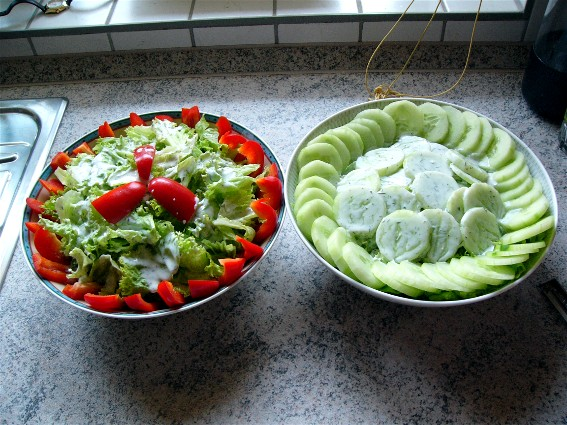 salate fotoalbum kochen rezepte bei chefkoch de. Black Bedroom Furniture Sets. Home Design Ideas