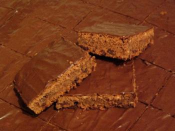 Lecker-schokoladiger Rotweinkuchen vom Blech