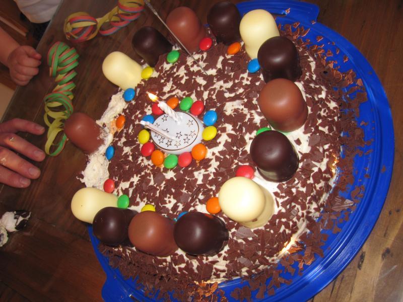 Mini- Dickmanns Torte , Kindergeburtstag