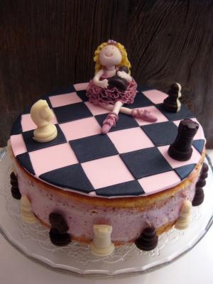 schachballerina zum 7 geburtstag motivtorten fotos forum. Black Bedroom Furniture Sets. Home Design Ideas