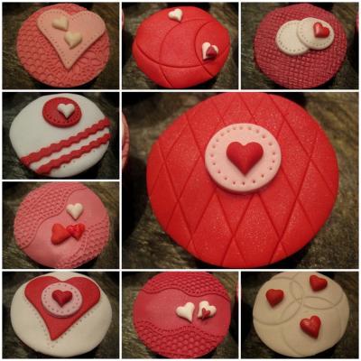 Herzchen Im Doppelpack Torte Und Cupcakes Zum Valentinstag