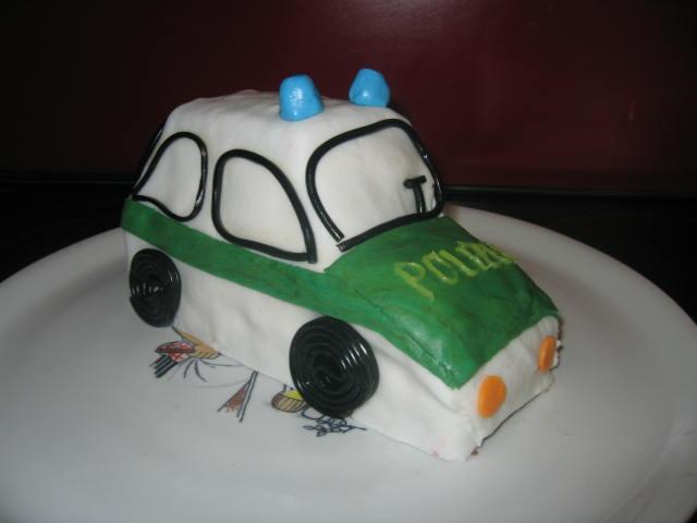 Polizei Kuchen Backen Geburtstagskuchen