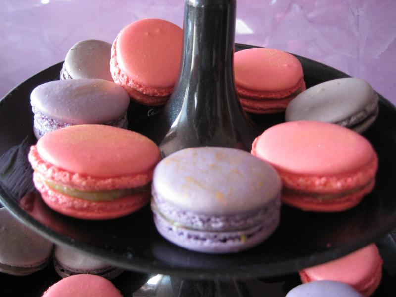 franz sische macarons fotoalbum kochen rezepte bei chefkoch de. Black Bedroom Furniture Sets. Home Design Ideas