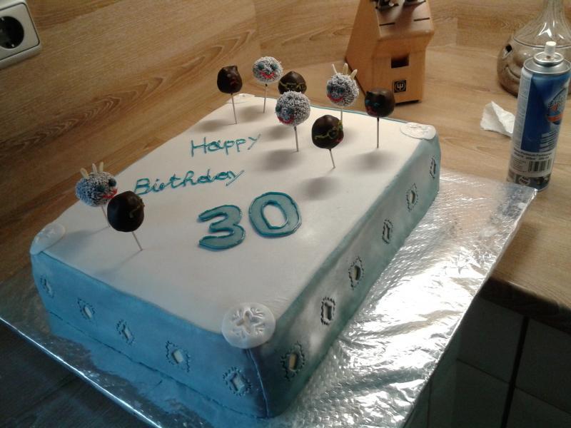 Torte zum 30 geburtstag rezept
