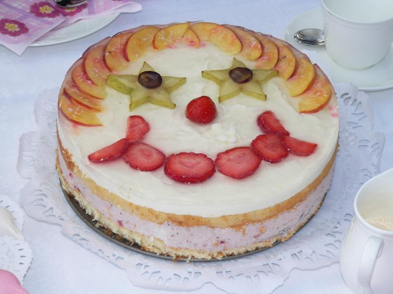 Kuchen gesicht