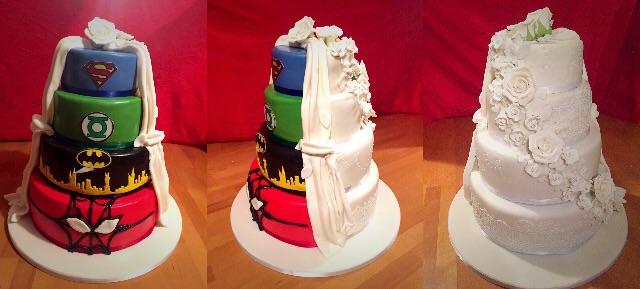 Superhelden Hochzeitstorte Motivtorten Fotos Forum Chefkoch De