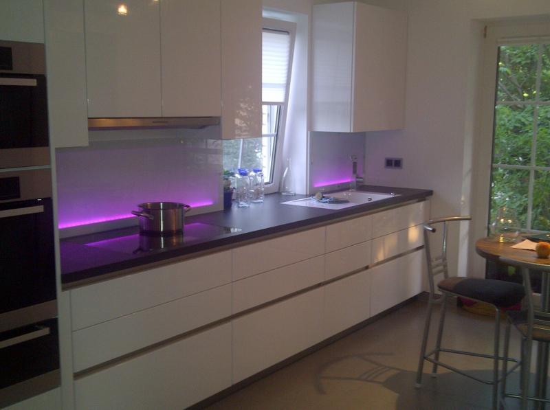 Küchenbeleuchtung Arbeitsplatte