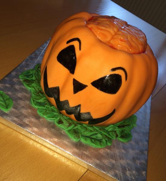 Halloween Nachtrag Kürbistorte Gehirn Monster Donuts Cookies Cupcakes Sarg Brownies 996882145