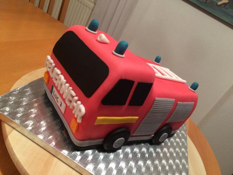 Feuerwehrauto Kuchen Backen Hausrezepte Von Beliebten Kuchen
