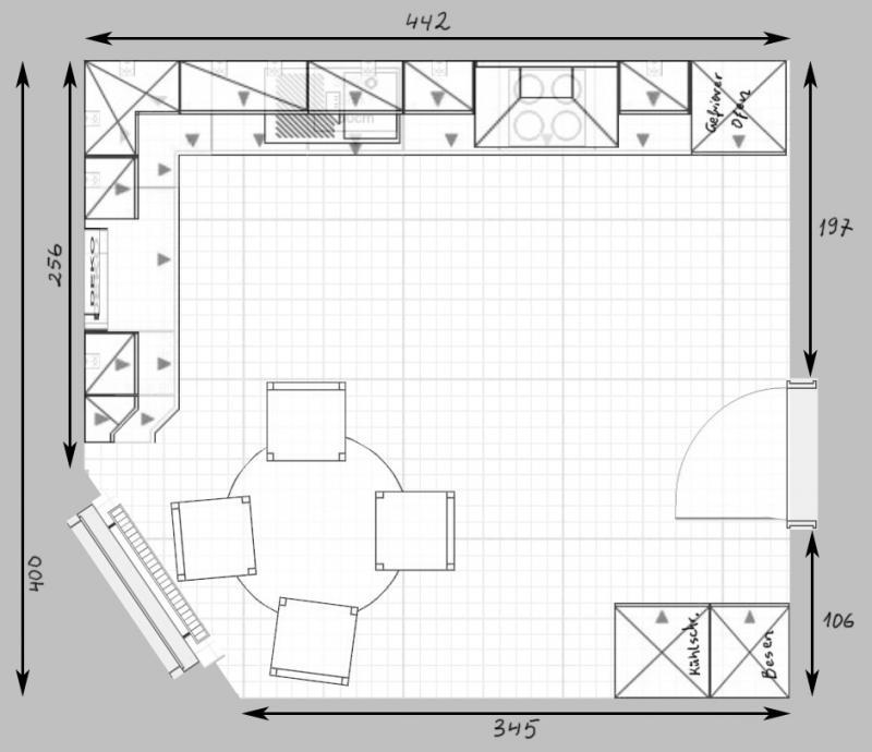 Küchenplanung ansicht  Küchenplanung Schmale Küche   ambiznes.com