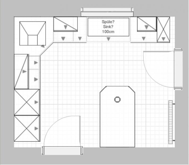 planung k che. Black Bedroom Furniture Sets. Home Design Ideas