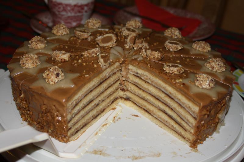 Torte marzipan nougat