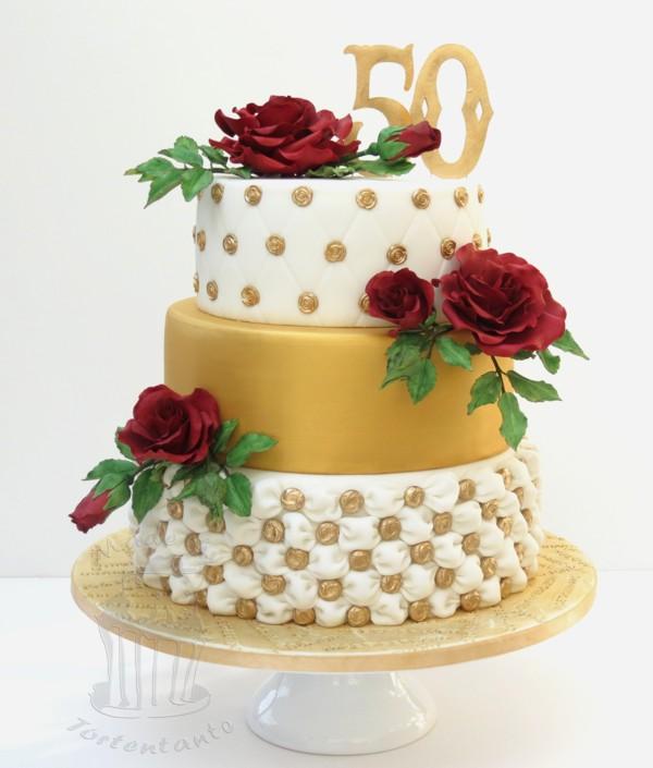 Torte Für Die Goldene Hochzeit Meiner Eltern Diesmal Nix