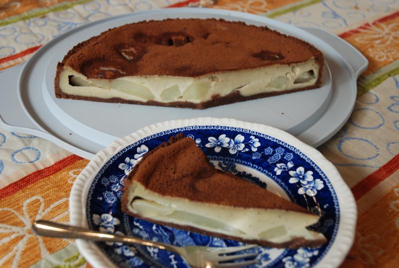 Birnen Schokoladen Tarte Kardamom parfümiert 1744398119