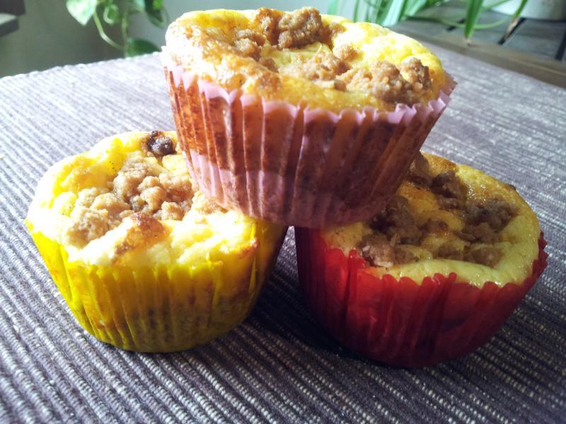 Spanisheyes Blog bei Chefkoch.de - Käsekuchen Muffins