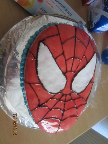 Spiderman Kuchen Rezept Appetitlich Foto Blog Für Sie