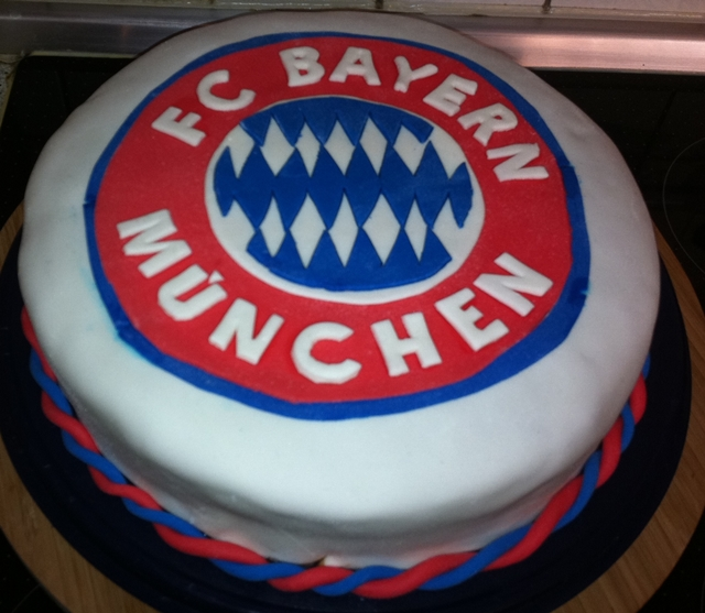 Bayern Munich Birthday Cake