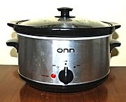 Crock Pot - Slow Cooker - Niedrig-Temperatur-Garen