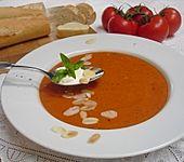 Tomatensuppe (Bild)