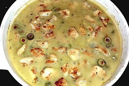 Hühnerbrüstchen in Sherrysauce 1