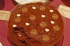 Winterliche Mousse au chocolat