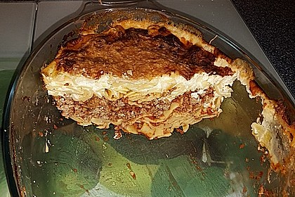 Bandnudel-Lasagne