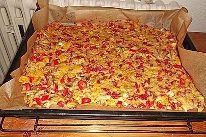 Schüttel-Pizza