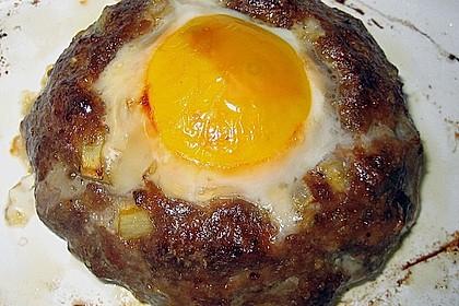 Eier im Hackfleischnest 5