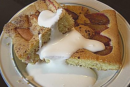 Pflaumen- , Kirschen-  oder Aprikosenkuchen 9