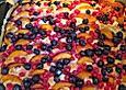 Pflaumen- , Kirschen-  oder Aprikosenkuchen