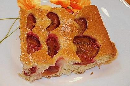 Pflaumen- , Kirschen-  oder Aprikosenkuchen 1