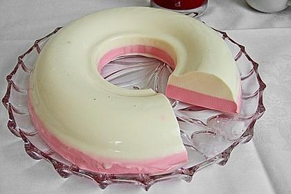 Panna cotta mit Erdbeersauce 30