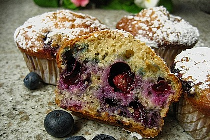 Heidelbeer-Muffins 3