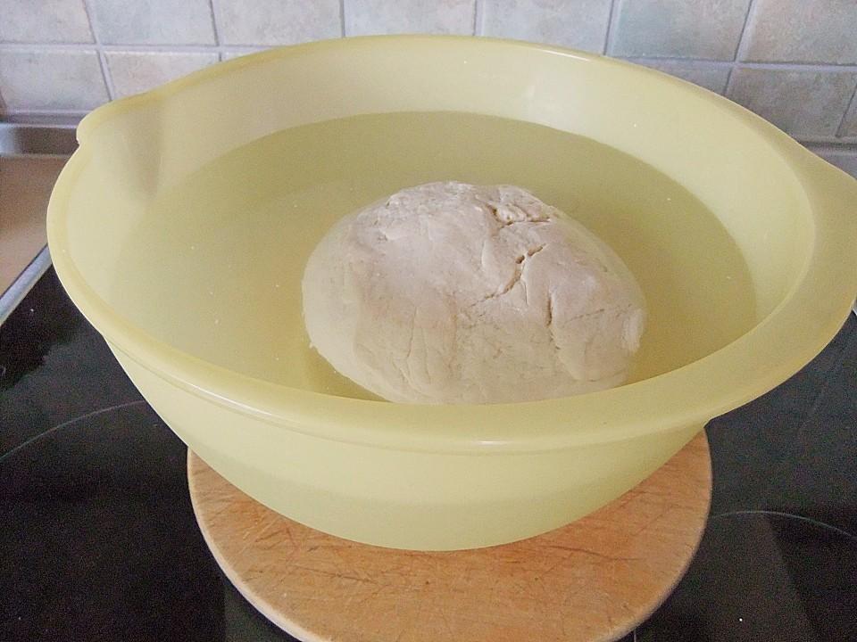 Kalter hefeteig kuchen