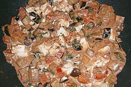 Schafskäse-Auberginenpfanne 16