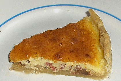 Champignon-Käse-Torte 1