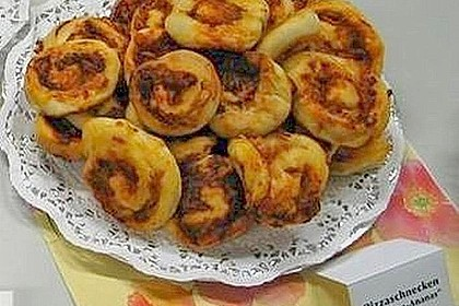 Schinken-Ananas-Pizzaräder