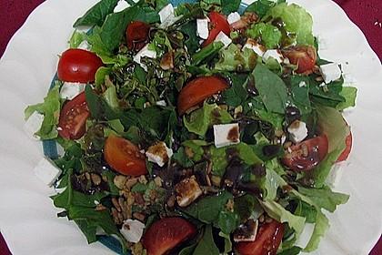 Spinatsalat mit Mozzarella 4