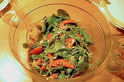 Spinatsalat mit Mozzarella 5