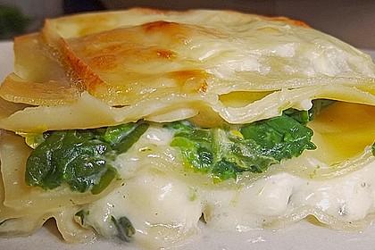 Spinat Lasagne 1