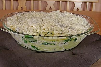 Spinat-Lasagne 2
