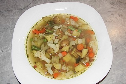 Gemüsesuppe 15