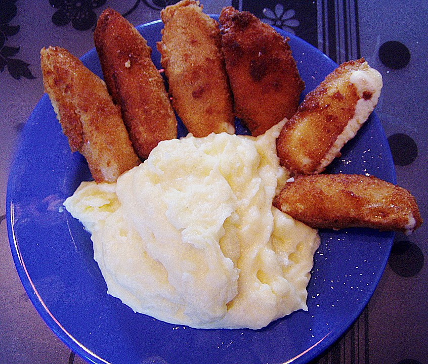 mozzarella sticks frittiert rezept mit bild von k chenfee. Black Bedroom Furniture Sets. Home Design Ideas