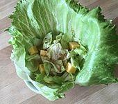 Käse-Trauben-Salat
